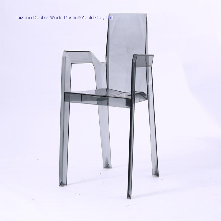 DDW New Design Transparent Plastic Chair Mold Acrylic Chair Molding